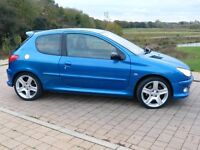 Peugeot 206 GTi 180 (2004) Electric Blue