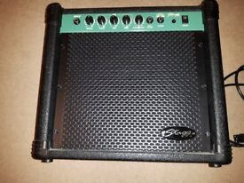 STAGG 20-BA 20W Electric Bass Guitar Combo Practice Amplifier