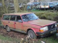 Good condition Volvo 240/ 940 model wanted by Volvo enthusiast