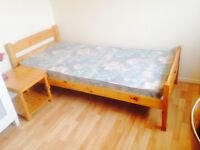 Centrally Located single room all bills Included