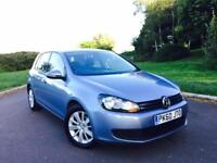 2010 VOLKSWAGEN GOLF 1.6 TDI BLUEMOTION DSG