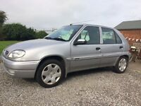 BIG PRICE CUT! Reliable Citroen Saxo 1.1 Desire. MoT'd.