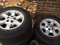 Discovery 2 Alloy Wheels x5