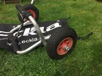 Eckla kayak launching trolley