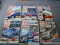 380 issues of Auto Express magazine from between 1988 and 2011