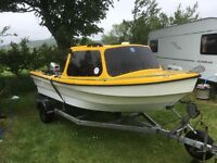 DEJON 14 ft fishing boat