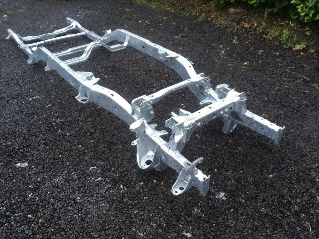 Nissan Navara D40 Heavy Duty Galvanised Chassis In