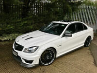 2013 Mercedes C63 AMG Low Miles *AKRAPOVIC EXHAUST* Huge upgrades Stunning one of example!