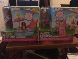 2 x unopened Barbie Chelsea Accessory Assortment