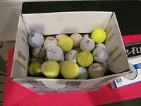 125 Golf Balls (including 15 Brand New & Boxed)