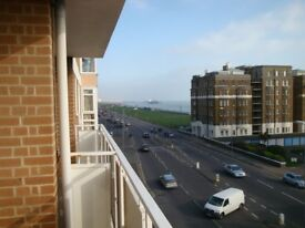 NEW LOWER PRICE - Lovely 2 Bed Balcony Flat With Sea Views & Underground Parking - No Tenant Fees