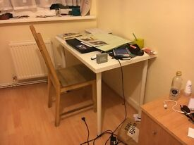 2 white desks for sale