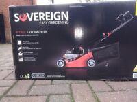 Petrol Lawnmower - Sovereign - Brand New Sealed Box