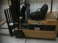 Caterpillar Electric Charging forklift EP18T 1.8 Tonne 48 Volts with Charger. Intermittent Fault