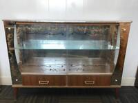 Vintage display cabinet/cocktail cabinet