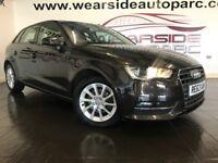 AUDI A3 1.6 TDI SE Sportback S Tronic 5dr Auto (brown) 2014