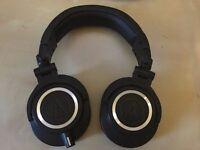 Audio-Technica ATH-M50x - Professional Monitor/Studio Headphones