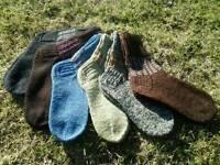 Best quality handmade 100% wool socks