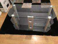 Glass tv stand excellent condition £25