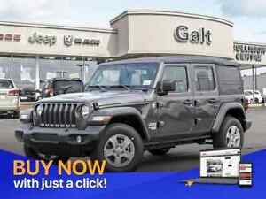 2019 Jeep Wrangler Unlimited SPORT 4X4 | BLUETOOTH 5.TOUCH