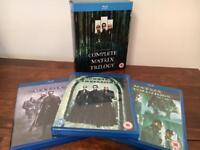 The matrix Trilogy on Blu Ray