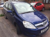 Vauxhall Zafira Automatic diesel 7 seater not Verso smax cmax