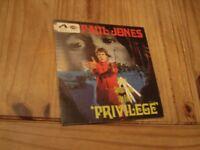Vinyl Record 45rpm Paul Jones Songs From The Film Privilege 1967