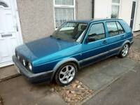 Still for sale 21/05/18 Golf mk2 1.6 Running Project