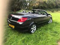 2008(08) vauxhall astra twintop sport