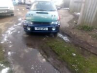 Subaru Impreza uk2000 project