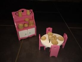 ELC Dolls house furniture plus extras- 9 sets available