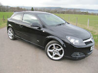 Vauxhall Astra 1.8 SRi XP 3 door Black FSH 2010 STUNNING NOW only £3,250. March 2018 MOT