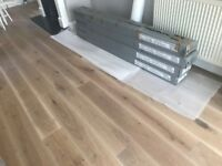 Engineered Wood Oak Flooring – Brushed and UV Oiled
