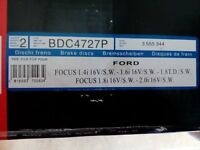 Front Discs for Ford Focus