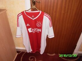 Ajax football shirt size XL