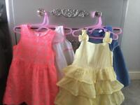 Brand new x4 girls bundle summer holiday dresses Age 18-24