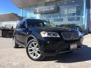 2013 BMW X3 AWD Leather Sunroof