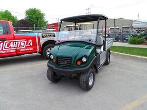 2016 club car Carryall  500 ELECTRIC  48VOLT UTILITY GOLF CART Belleville Belleville Area image 9
