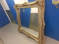 Lovely French ornate mirror 5 ft x 5ft 5 inches