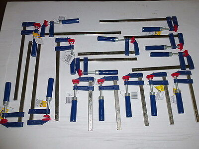Posten  15 Stück  Schraubzwingen    SZ 50x 150-200-300mm   Schraubzwinge  NEU