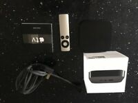 Apple TV 3rd gen. in box w/power lead and remote