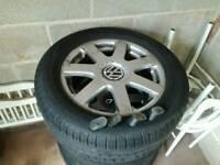 Vw golf mk4 alloy wheels
