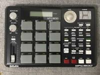 Akai Mpc 500 + THICK FAT PAD + 128 MB RAM ( MPC500 drum-machine with pad midi sequencer)