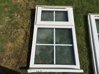 4 Used UPVC windows (1 frosted)