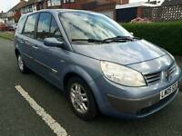 RENAULT GRAND SCENIC 1.6VVT 7 SEATER 2005 MAXIM EDITION FULL LEATHER