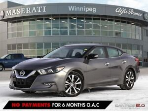 2017 Nissan Maxima SV: NO ACCIDENTS, ONE OWNER