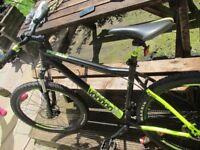 "Voodoo Bantu Mens Mountain Bike 22"" frame"