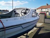 swap cabin boat with trailer for caravan