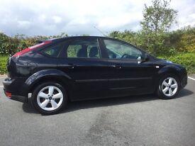 Ford Focus 1.8 zetec black for sale