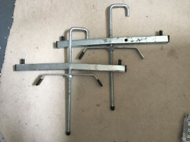 2x Ladder clamps for roof rack